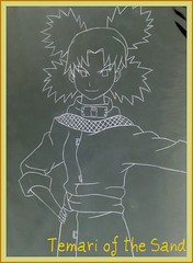 Temari of the Sand (DangoLynx) Tags: fan sand character cast naruto suna gaara baki kankuro temair