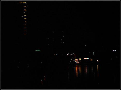 台南運河夜景