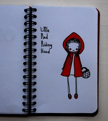 hey there, little red riding hood.. oh sure you're looking good. (EMPTY.) Tags: drawing littleredridinghood dibujo caperucitaroja