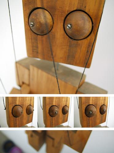 Marioneta Ojos Moviles (1ş)