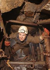 Scaffold Shaft - Ogof Ap Robert (dudley bug) Tags: uk southwales limestone cave caving karst spelunking cccp ogof trefil caver cavechat aprobert