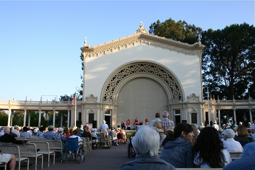 banjo band at balboa park