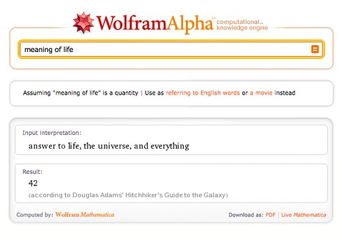 WolframAlpha Knows It All
