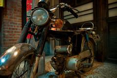 Rusting motorcycle (stephenchang) Tags: vacation taiwan taipei 1735mmf28d
