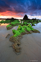 (Iigoaspirez) Tags: sea paisajes costa canon atardecer mar playa angular rocas cantabria 40d iigoaspirez