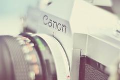 44/60. Freelensing. (Gia Catalan) Tags: camera summer blur analog canon logo lens nikon focus bokeh depthoffield filmcamera ftb freelensing 60daysofsummer