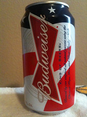 Special 4th of July can from Budweiser (Joe D. Photography) Tags: music food cold newmexico beer 4th july albuquerque drinks july4th 4thofjuly budweiser iphone3gs