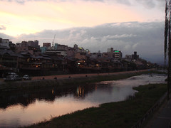Kyoto Kamo River (Namisan) Tags: