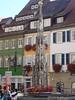 fonte na marktplatz de Rottenburg