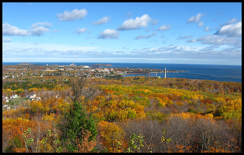 Marquette from Marquette Mtn.
