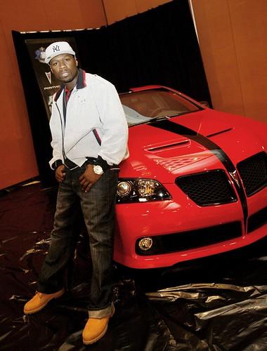 50 Cent Pontiac G8
