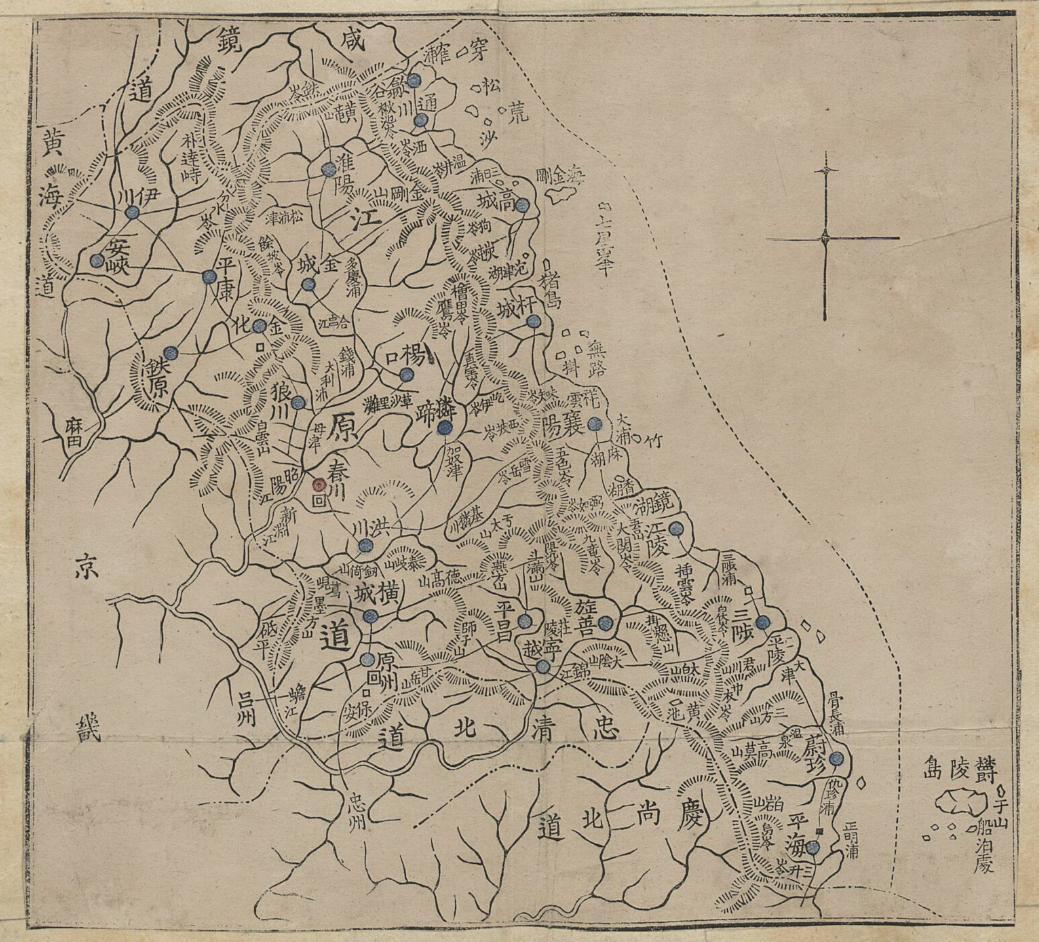 1898 - Joseon-jido - Gangwondo 1