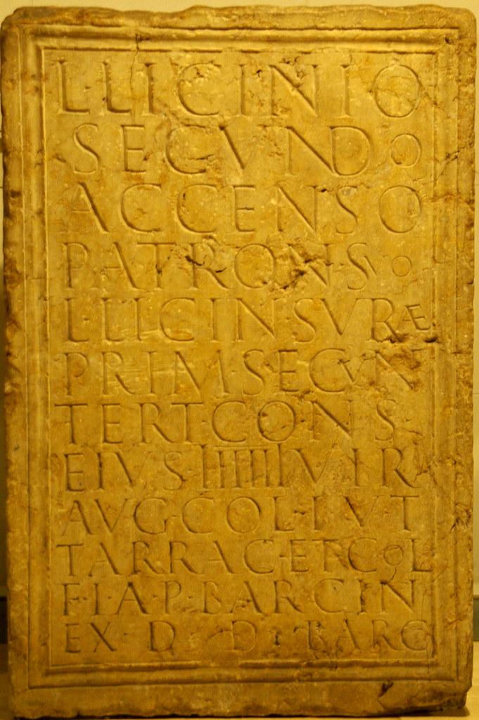 Pedestal per a Licini Secund
