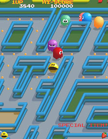 Pac-Mania Screenshot