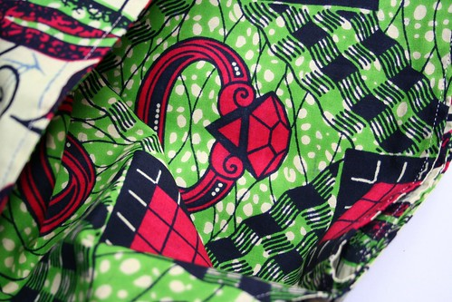 african fabric babysling