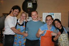 IMG_4368.JPG (drapelyk) Tags: friends me japan osaka makingsoba sobarestaurant sobaclass