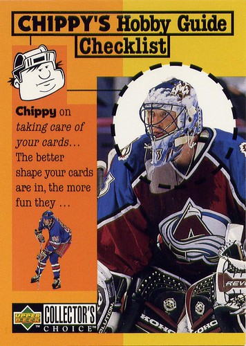 Patrick Roy, 97-98 Collector's Choice, Colorado Avalanche