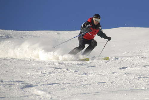 Nacho Correa esquiando en Cerler 04