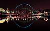 Newcastle Upon Tyne, UK (i.rashid007) Tags: uk bridge night newcastle landscape lights nightshot tynebridge newcastleupontyne