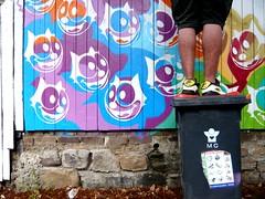 felix (leaaaah) Tags: streetart stencil felix sydney nike bin newtown summersessions weekeslane weekeslaneartistswalk newviewgallery wwwweekeslanecom