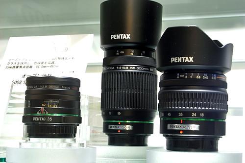 PENTAX DA lenses