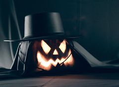 (Abdullah AL-Naser) Tags: shadow west halloween hat canon dark pumpkin eos virginia scary soft you box tube scare ef morgantown 580ex kuwaiti fright 30d abdullah abraj 2470mm speedlite youtube f28l abraaj alnaser photolex