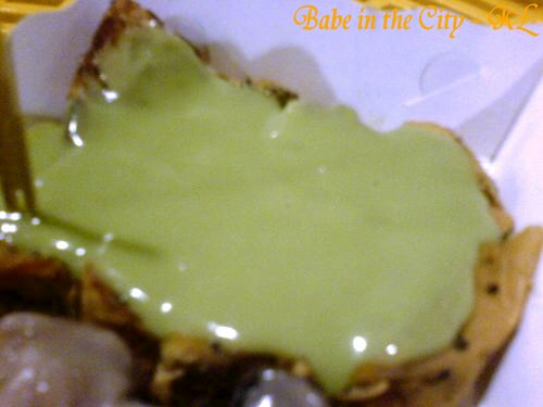 sbread - pandan kaya with sesame bread