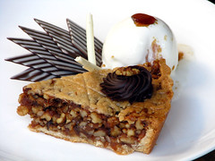 Date and Walnut Pie and Ice Cream by kspoddar on Flickr!