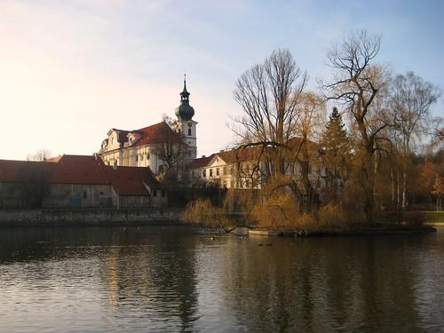 The park by Brevnov Monastery