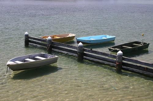 Boats near Kiama.
