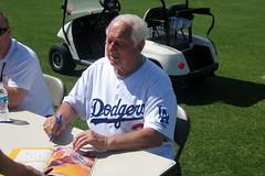Dodgers Spring Training - Tommy Lasorda