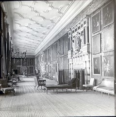 Long Gallery, Hardwick Hall, Derbyshire in 1900's (Brownie Bear) Tags: uk england hall long gallery britain derbyshire united great kingdom national trust gb hardwick hardwickhall derbys