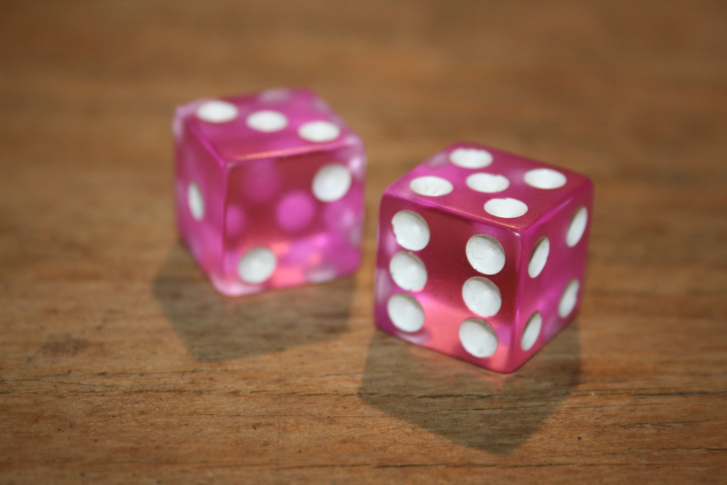 dice by Amy the Nurse, on Flickr