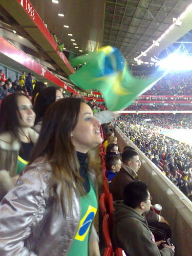 Brazil v Sweden at Emirates Stadium