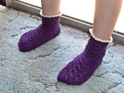 Purple Heart Socks