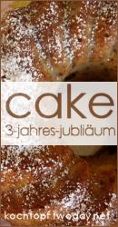 3-Jahres-Jubil�um Blog-Event: Cake