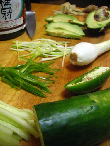 Sushi Stuffing Ingredients