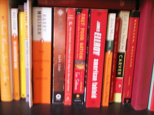 orange (and red) books