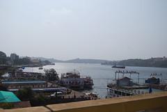 zuari river (pallav moitra) Tags: beach goa anjuna panjim mandovi zuari baghator