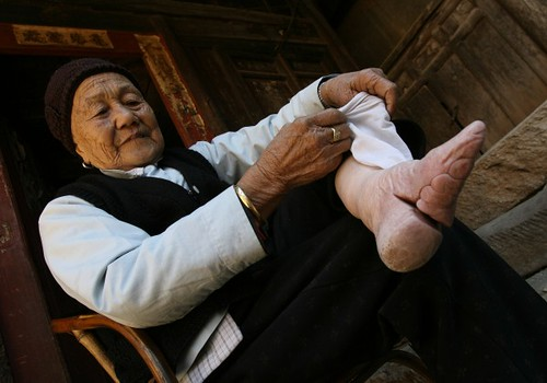 quotes about foot binding