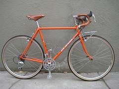 Bob Jackson Special Tourist (Ed Litton Re-Paint) Maybe For Sale (zacquillestanli) Tags: orange bike for sale bob tourist surly rivendell touringbike mercian bobjackson