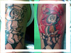 tatuagem boneca new school no braco TARZIA TATTOO -