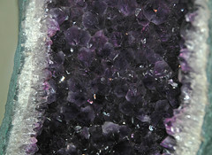 Amethyst geode (Ametista do Sul, Rio Grande do Sul, Brazil) 3 (James St. John) Tags: amethyst quartz silicate silicates mineral minerals ametista do sul rio grande brazil geode geodes