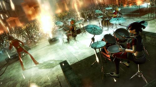 Guitar Hero 5 Rocking on Four Drums.jpg