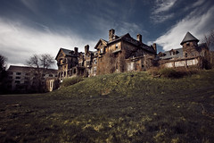 House on Haunted Hill (no3rdw) Tags: school girls urban house abandoned college scary decay hill eerie haunted spooky exploration decayed urbex