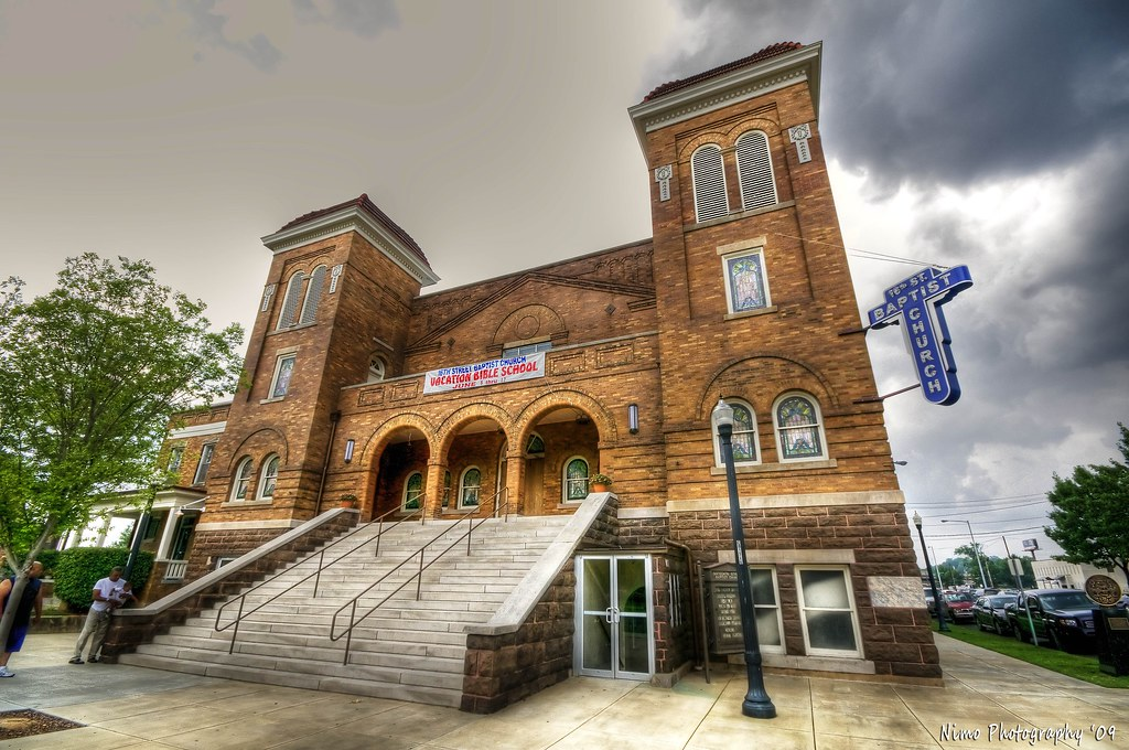 The tragic story of the16th St Baptist Church, Birmingham Alabama