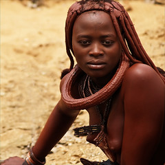 Ovahimba Woman (gunnisal) Tags: africa people african culture tribal safari afrika tribe ethnic namibia tribo himba afrique ethnology tribu namibie tribus ethnie