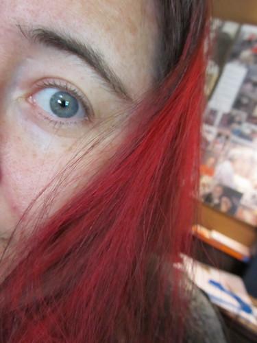 Rose tint my hair...
