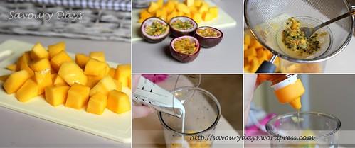 Mango & Passion Fruit Lassi