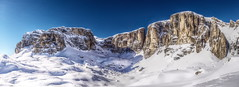 mighty mountains (koaxial) Tags: italien blue schnee winter sky italy panorama snow mountains nature view stitch natural natur olympus berge dolomites sdtirol dolomiten hugin natrlich sellaronda koaxial mygearandme mygearandmepremium mygearandmebronze mygearandmesilver olympusepl5 epl5 125146772orfv2p1mantiuk06aorton